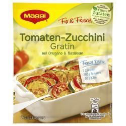 Maggi fix & frisch Tomaten-Zucchini Gratin (4 g) - 7613030718789