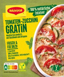 Maggi Natürlich & Bewusst Tomaten-Zucchini Gratin