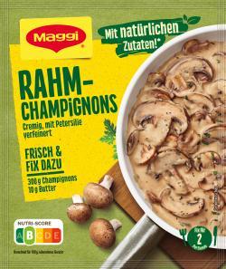 Maggi Fix für Rahm Champignons