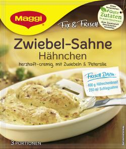 Maggi fix & frisch Zwiebel-Sahne-Hähnchen (26 g) - 7613030720089