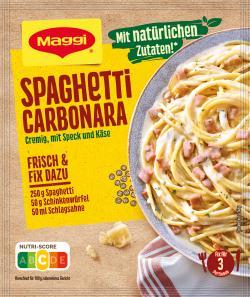 Maggi Fix für Spaghetti alla Carbonara