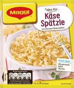 Maggi Fix für Käse-Spätzle
