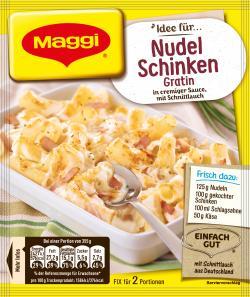 Maggi Fix für Nudel-Schinken Gratin
