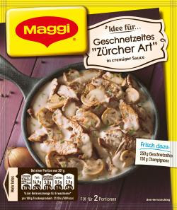 Maggi fix & frisch Geschnetzeltes Zürcher Art