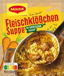Maggi Guten Appetit Fleischklößchen Suppe