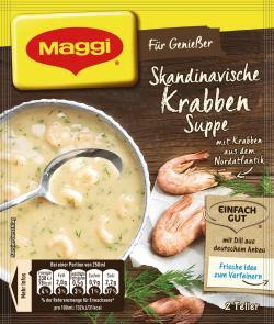 Maggi Für Genießer Skandinavische Krabben-Suppe (42 g) - 7613035151772