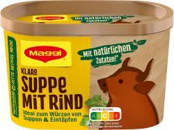Maggi Klare Suppe mit Rind
