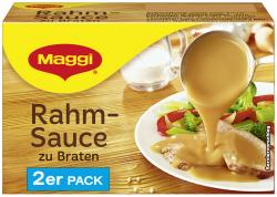 Maggi Delikatess Rahmsauce zu Braten