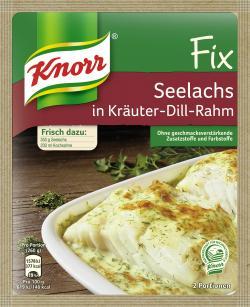 Knorr Fix Seelachs in Kräuter-Dill-Rahm (30 g) - 4000400127990