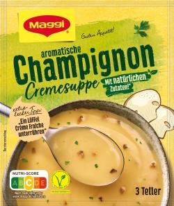 Maggi Guten Appetit Champignon Cremesuppe