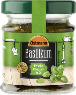 Ostmann Basilikum frische Kräuter in Öl
