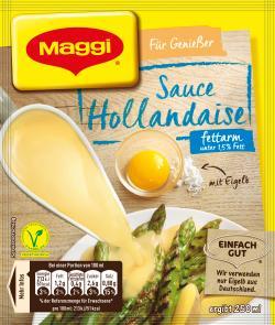 Maggi Für Genießer Sauce Hollandaise fettarm (31 g) - 4005500066781
