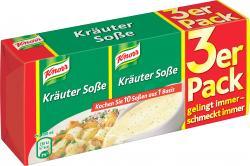 Knorr Kräuter Soße (3 x 250 ml) - 4000400117038
