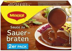 Maggi Delikatess Sauce zu Sauerbraten