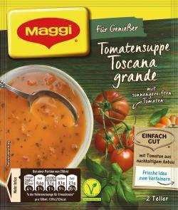 Maggi Für Genießer Tomatensuppe Toscana Grande - MHD 31.03.2017  - 7613031382378