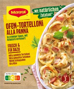 Maggi Fix für Ofen-Tortelloni alla Panna