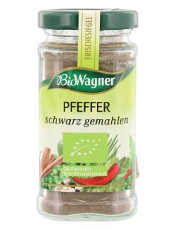 BioWagner Pfeffer schwarz gemahlen (70 g) - 4001639101676