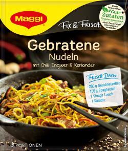 Maggi fix & frisch Gebratene Nudeln (26 g) - 7613031895779
