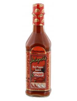 Ostmann Jalapeno Red Pepper Sauce scharf (100 ml) - 4002674317107