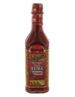 Ostmann Jalapeno Red Pepper Sauce extra scharf (100 ml) - 4002674317152