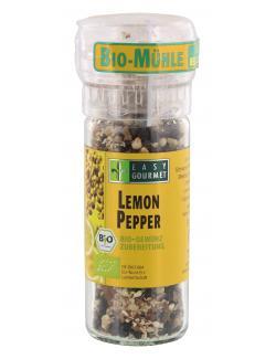 Easy Gourmet Bio Gewürzmühle Lemon Pepper (45 g) - 4250115713159