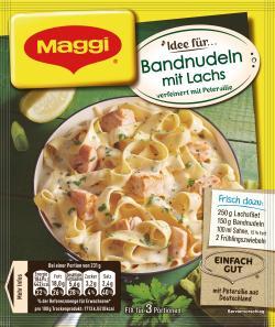Maggi Fix für Bandnudeln mit Lachs