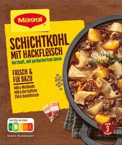 Maggi fix & frisch Schichtkohl mit Hackfleisch (31 g) - 7613031883509