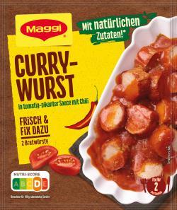Maggi Fix für Currywurst