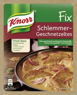 Knorr Fix Schlemmer-Geschnetzeltes