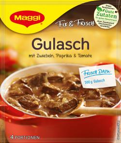 Maggi fix & frisch Gulasch (44 g) - 7613030711490