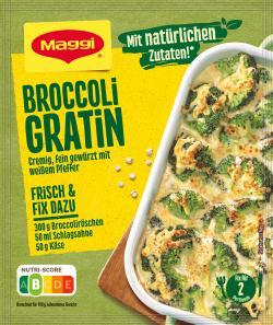 Maggi Fix für Broccoli Gratin