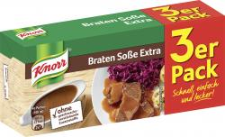 Knorr Braten Soße extra (3 x 0,25 l) - 4038700117007