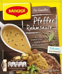 Maggi Für Genießer Pfeffer Rahmsauce (28 g) - 4005500054887