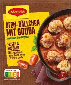 Maggi Idee für Ofen-Bällchen mit Gouda