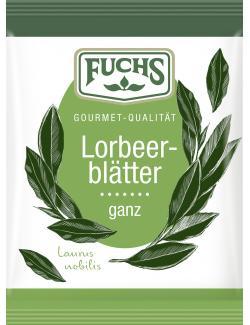 Fuchs Lorbeerblätter ganz
