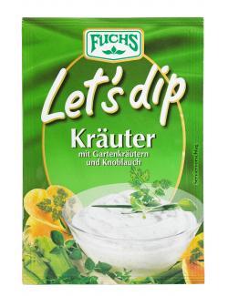 Fuchs Let's Dip Kräuter Würzmischung (12,50 g) - 4027900289010