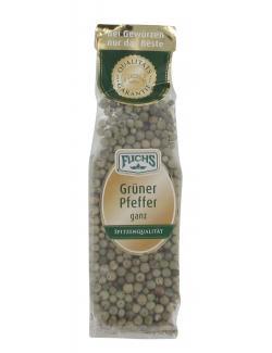 Fuchs Grüner Pfeffer ganz (40 g) - 4027900244750