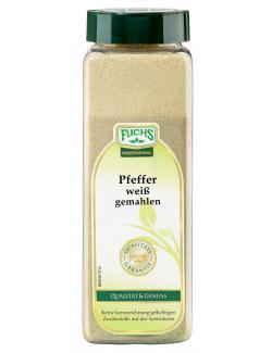 Fuchs Pfeffer weiß gemahlen (600 g) - 4027900604721