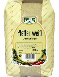 Fuchs Pfeffer weiß gemahlen (1 kg) - 4027900614720
