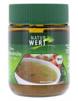 NaturWert Bio klare Gemüsebrühe (125 g) - 4250780300975
