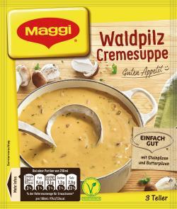 Maggi Guten Appetit Waldpilz-Cremesuppe - 7613033068140