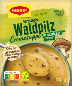Maggi Guten Appetit Waldpilz Cremesuppe