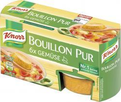 Knorr Bouillon Pur Gemüse