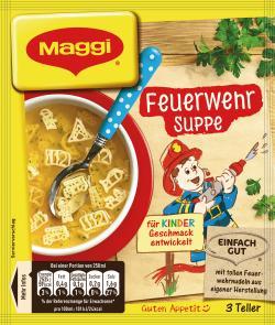 Maggi Guten Appetit Feuerwehr Suppe