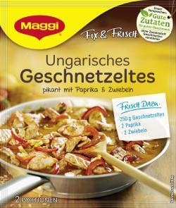 Maggi fix & frisch Ungarisches Geschnetzeltes (42 g) - 7613035419070