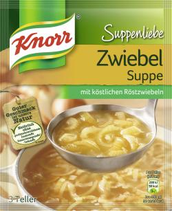 Knorr Suppenliebe Zwiebelsuppe - 8712566410330