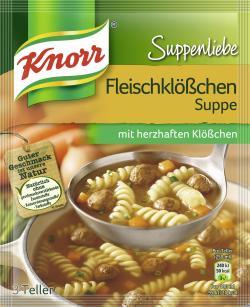 Knorr Suppenliebe Fleischklößchen Suppe - 8712566403752