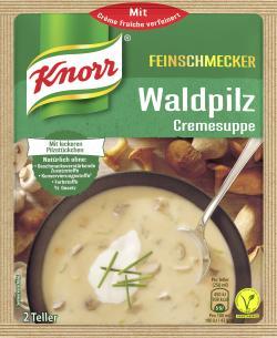 Knorr Feinschmecker Waldpilz Cremesuppe (56 g) - 8712566404353