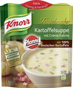 Knorr Feinschmecker Kartoffel Suppe mit Creme fraîche - 8712566405459