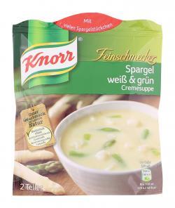 Knorr Feinschmecker Spargel weiß & grün Cremesuppe - 8712566405497